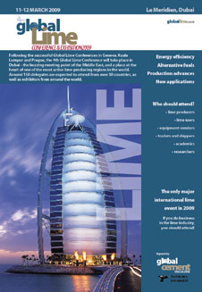 4th Global Lime Conference and Exhibition Brochure 2009